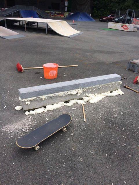 skateboard headz fieberbrunn curb making00001